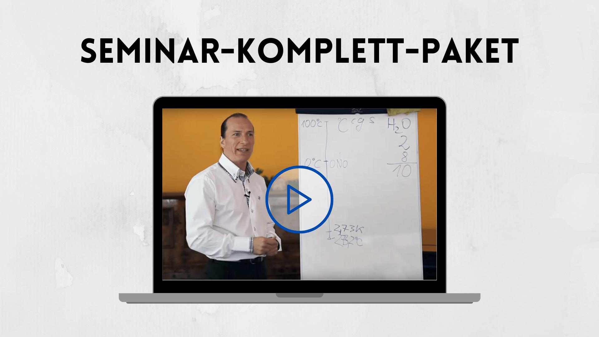 Seminar-Komlett-Paket Peter Menschensohn