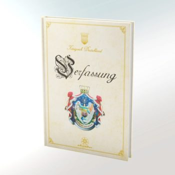 Verfassung des Königreiches Deutschland Buch