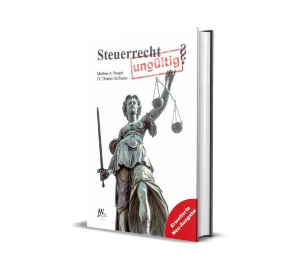 Buch Steuerrecht ungültig Mattias Paqué und Dr. Thomas Hoffmann