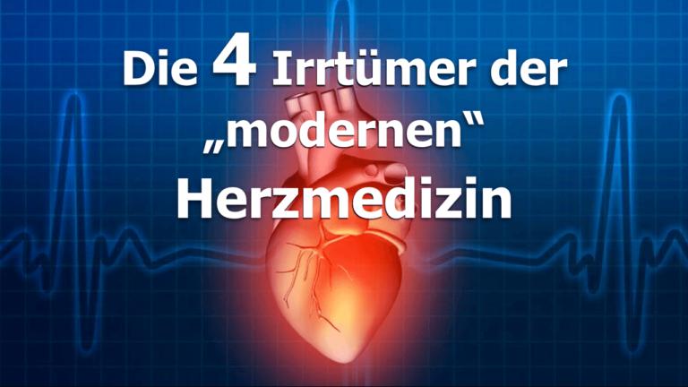 Die 4 Irrtümer der modernen Herzmedizin